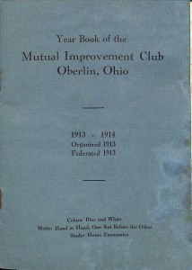 MIC Yearbook 1913 Cover