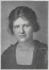 Ruth Alexander in the Oberlin Alumni Magazine.