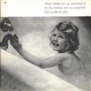 Nancy in bath