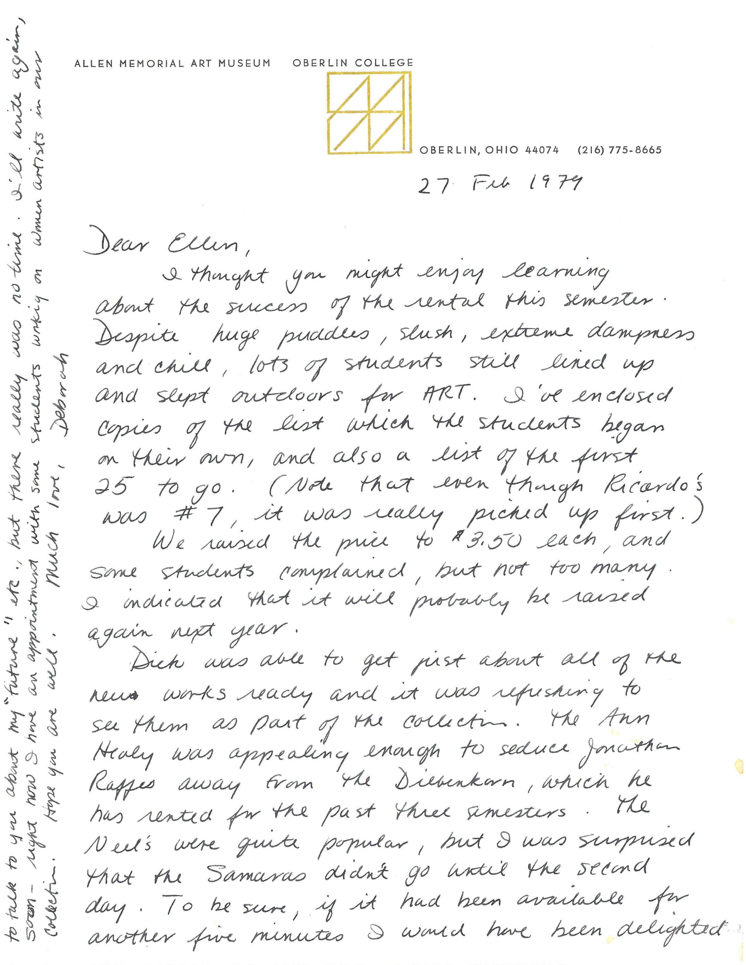27 Feb 1979 letter p1