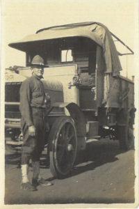 Herman Nichols during World War I.