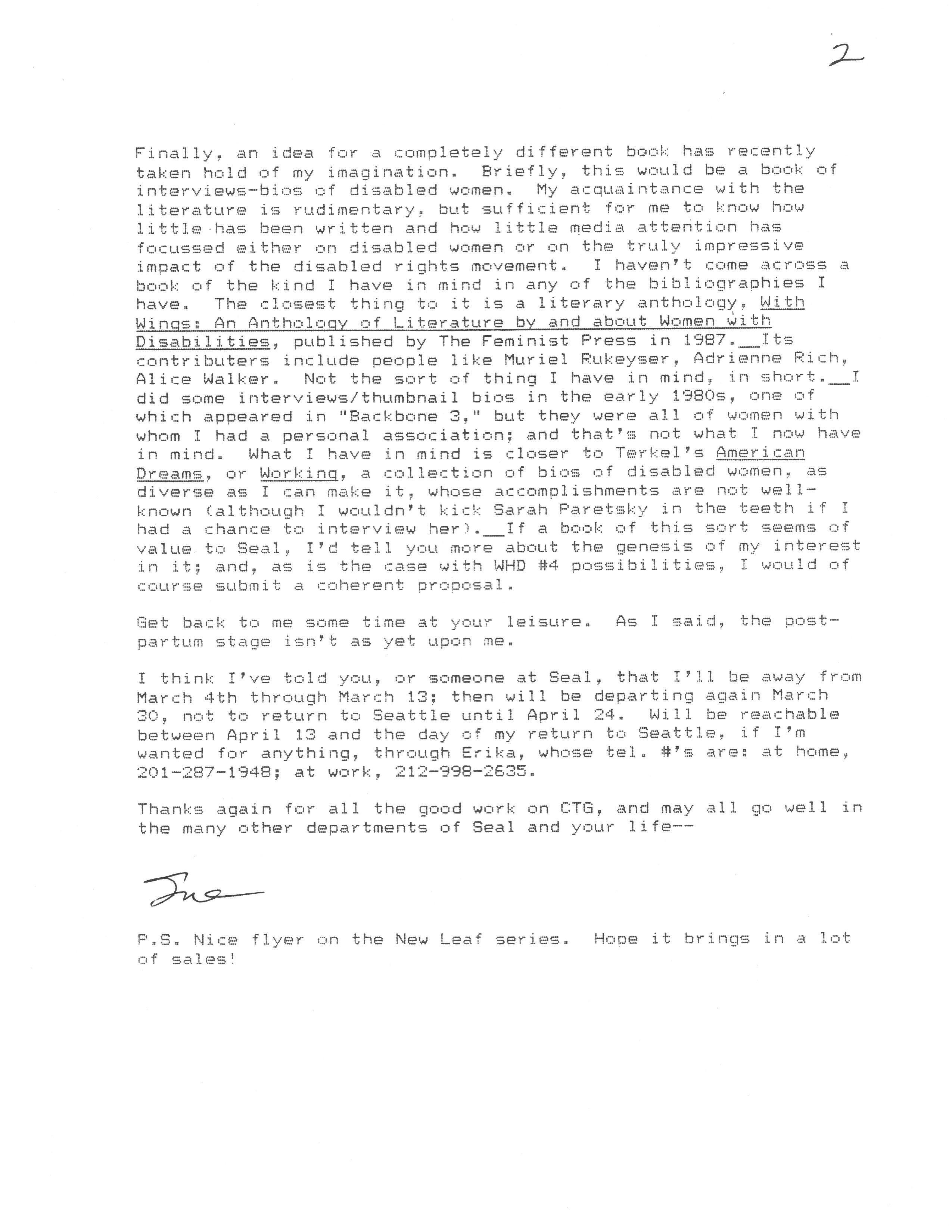 davidson letter pt2