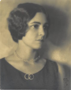 Eleanor Bumpstead in 1925.