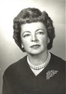 Title: Eleanor Stevenson in 1959