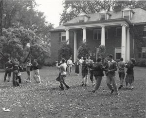 Dancing on Old Barrows Lawn